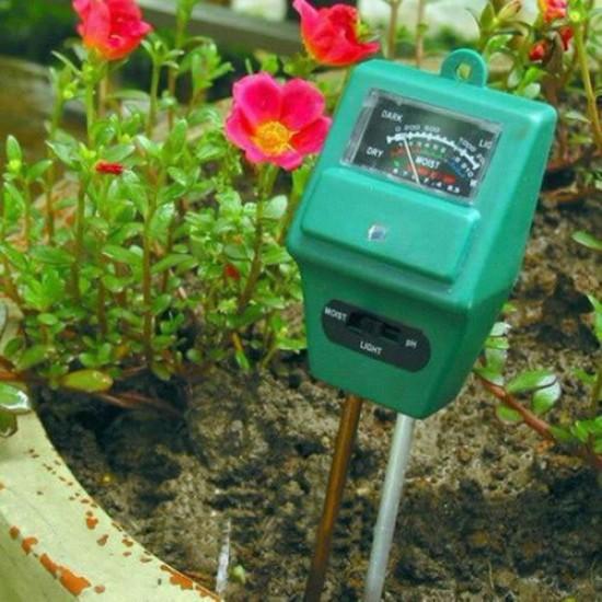 Υγρασιόμετρο Ελεγχος PH και Φωτεινότητας σε ένα Εργαλείο!