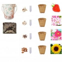 Παιδικό Σετ/Κιτ Καλλιέργειας για Δώρο / Κορίτσι - Oι Μικροί Κηπουροί