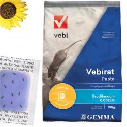 Ποντικοφάρμακο VEBIRAT PASTA 150g