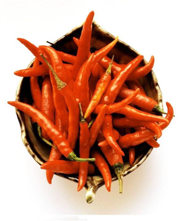 καυτερές πιπεριές οφέλη